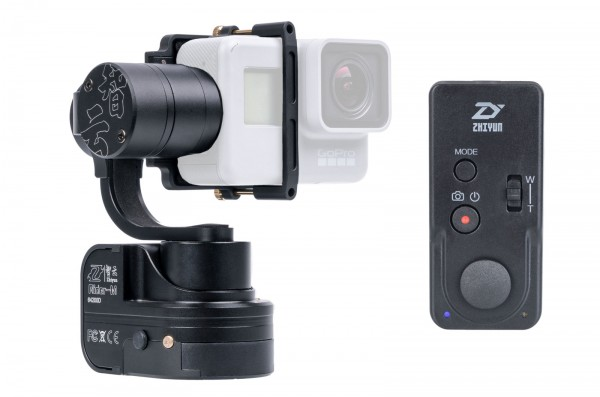 ZY Rider M Gimbal 3 Axis Remote 2 Kit für GoPro HERO6 /5 Black